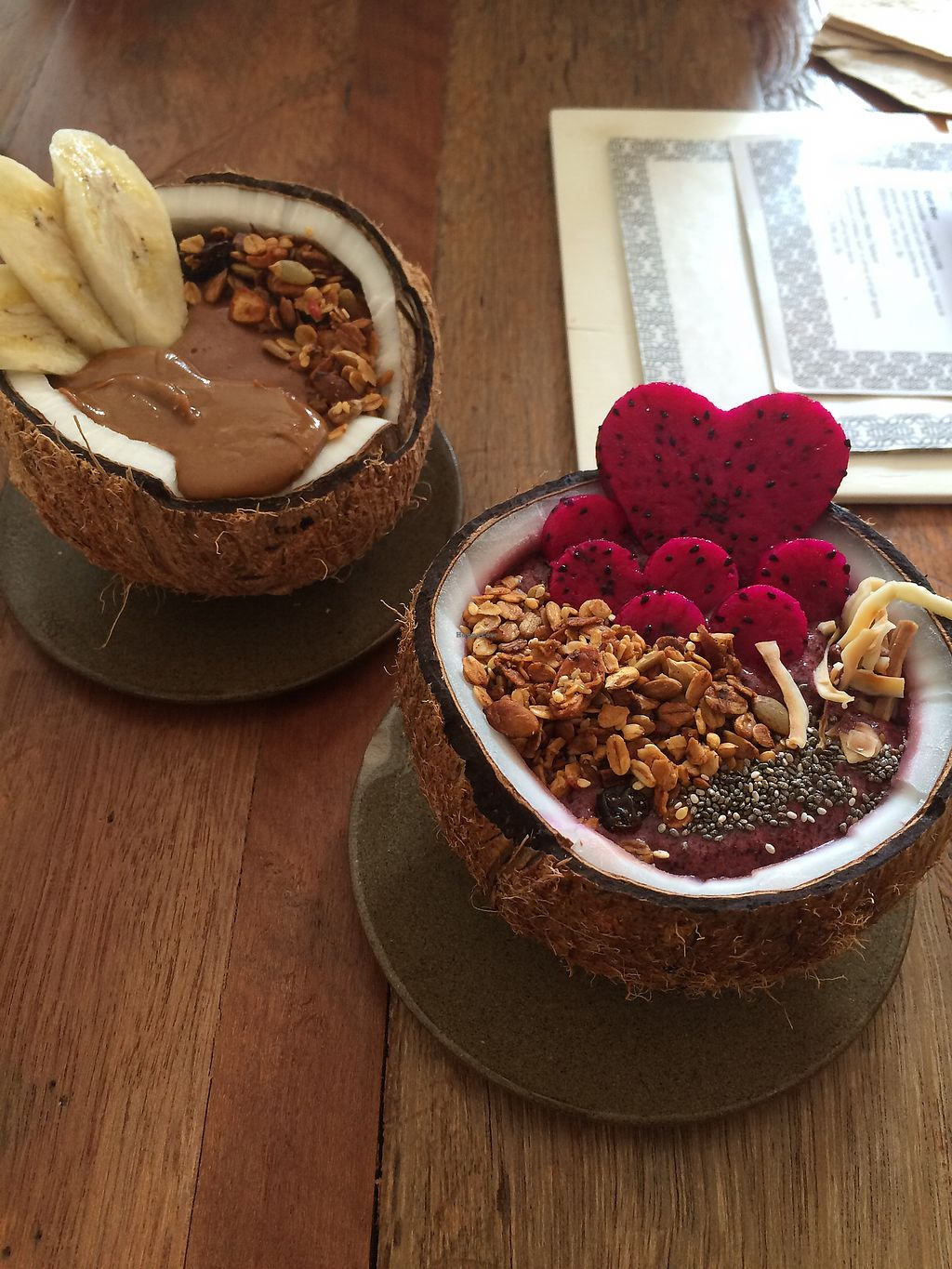 "Photo of Vibe Cafe  by <a href=""/members/profile/HungryEaters"">HungryEaters</a> <br/>Yummy bowls (chocolate and amazonian) <br/> October 18, 2017  - <a href='/contact/abuse/image/80904/316224'>Report</a>"