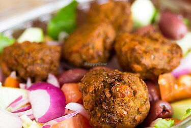 """Photo of Umami Global Bistro  by <a href=""""/members/profile/Chefrehan24"""">Chefrehan24</a> <br/>All hand made vegan and gluten free falafel..yummm <br/> January 29, 2018  - <a href='/contact/abuse/image/80908/352526'>Report</a>"""