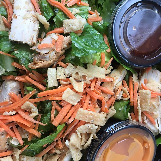 "Photo of Tropical Smoothie Cafe  by <a href=""/members/profile/nardanddee"">nardanddee</a> <br/>Thai 'chicken' salad with Beyond Meat <br/> June 19, 2017  - <a href='/contact/abuse/image/80923/271154'>Report</a>"