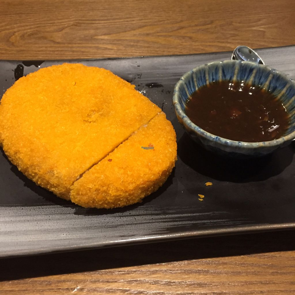 """Photo of Vegelife  by <a href=""""/members/profile/vegannomad2"""">vegannomad2</a> <br/>Japanese taro steak <br/> November 27, 2016  - <a href='/contact/abuse/image/80947/195093'>Report</a>"""