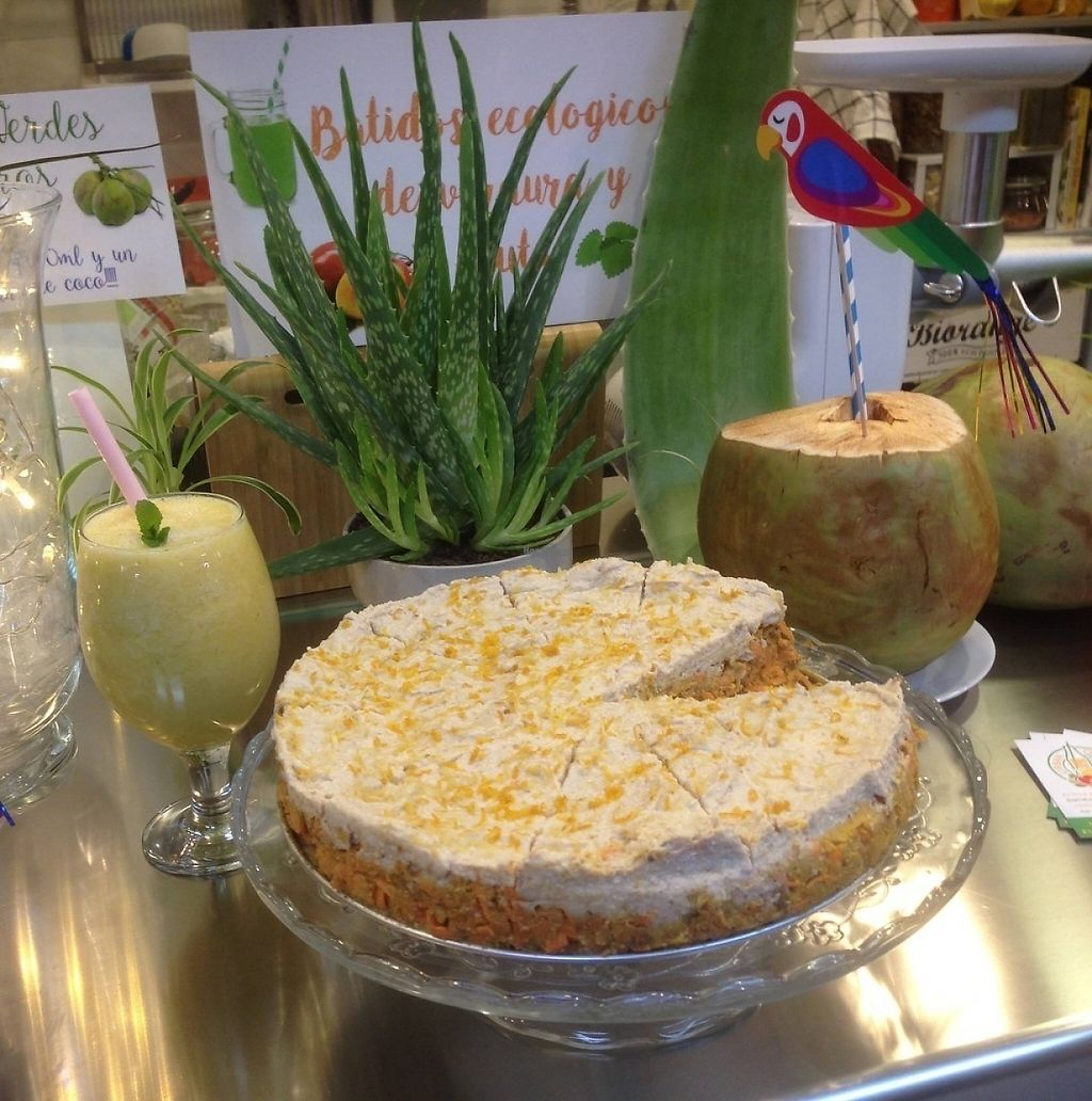 """Photo of Urban Orchard  by <a href=""""/members/profile/urbanorchard"""">urbanorchard</a> <br/>Raw Vegan Organic Carrot Cake. It has Carrots, Dates, Lemon and Cashew Nuts! <br/> December 22, 2016  - <a href='/contact/abuse/image/80967/204113'>Report</a>"""