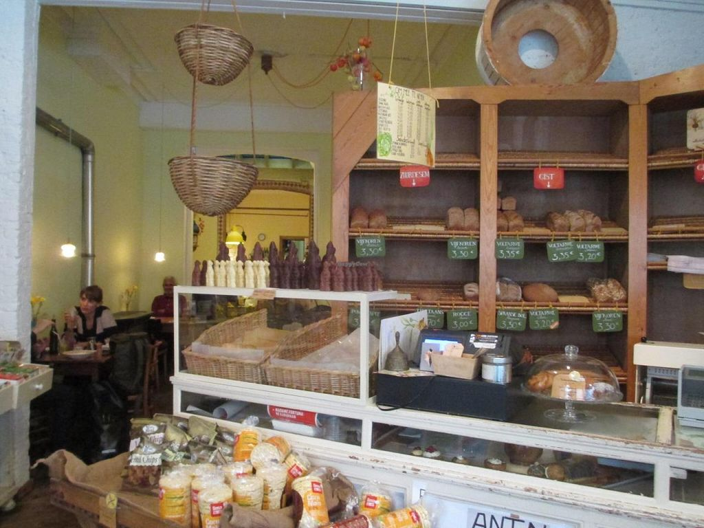 """Photo of CLOSED: De Biologisch-Dynamische Bakkerij  by <a href=""""/members/profile/Joyatri"""">Joyatri</a> <br/>Bakery in front and cafe in back <br/> November 30, 2014  - <a href='/contact/abuse/image/8096/86844'>Report</a>"""