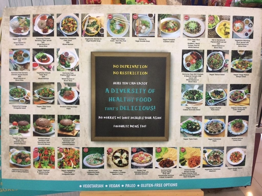"""Photo of CLOSED: Sunfresh Cafe/Detox Kitchen  by <a href=""""/members/profile/sydneyhumble"""">sydneyhumble</a> <br/>Menu outside restaurant  <br/> March 26, 2017  - <a href='/contact/abuse/image/80994/241104'>Report</a>"""