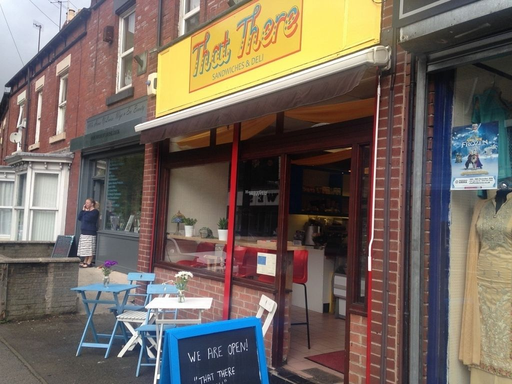 """Photo of That There Deli  by <a href=""""/members/profile/ThatThereDeli"""">ThatThereDeli</a> <br/>That There Deli - find us on Abbeydale Road. All our food is veggie, with a wide range of vegan and gluten free options too.  Outside catering also available!  <br/> October 6, 2016  - <a href='/contact/abuse/image/81019/180082'>Report</a>"""
