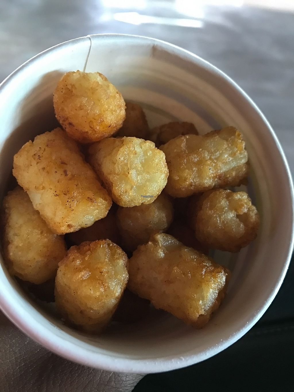 "Photo of Even Stevens Sandwiches  by <a href=""/members/profile/Tigra220"">Tigra220</a> <br/>plain Tater Tots <br/> December 28, 2016  - <a href='/contact/abuse/image/81029/205616'>Report</a>"