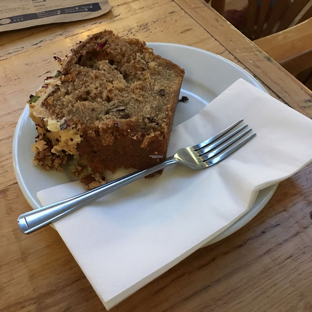"""Photo of Boston Tea Party  by <a href=""""/members/profile/LaurenaMct"""">LaurenaMct</a> <br/>Vegan coffee, walnut & cardamom cake ? <br/> January 14, 2017  - <a href='/contact/abuse/image/8106/211960'>Report</a>"""