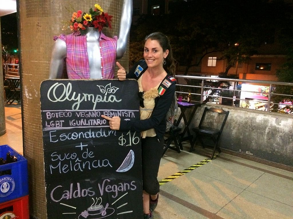 """Photo of Olympia Coop Bar  by <a href=""""/members/profile/BudgetBucketList"""">BudgetBucketList</a> <br/>I visited Olympia Coop Bar on my vegan pilgrimage through Belo Horizonte (read more about that here: http://www.budgetbucketlist.com/belo-horizonte.html)  <br/> August 14, 2017  - <a href='/contact/abuse/image/81071/292707'>Report</a>"""