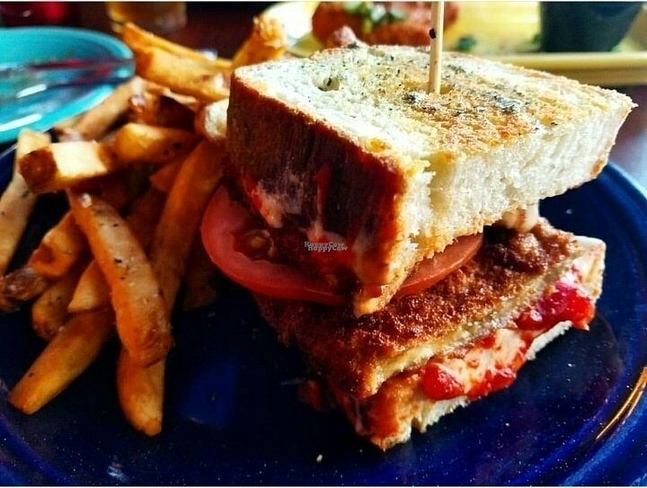 """Photo of Melt Bar & Grilled - Worth Ave  by <a href=""""/members/profile/Silly%20Little%20Vegan"""">Silly Little Vegan</a> <br/>Veganized Purple Parma <br/> October 6, 2016  - <a href='/contact/abuse/image/81078/180098'>Report</a>"""