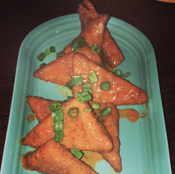 """Photo of Melt Bar & Grilled - Worth Ave  by <a href=""""/members/profile/Tabgreenvegan"""">Tabgreenvegan</a> <br/>Tofu Wings <br/> March 29, 2018  - <a href='/contact/abuse/image/81078/377796'>Report</a>"""