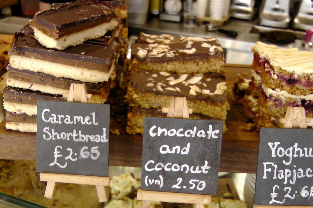 """Photo of Boston Tea Party  by <a href=""""/members/profile/trinitybourne"""">trinitybourne</a> <br/>Chocolate & Coconut slice (vegan) <br/> July 8, 2014  - <a href='/contact/abuse/image/8108/73480'>Report</a>"""