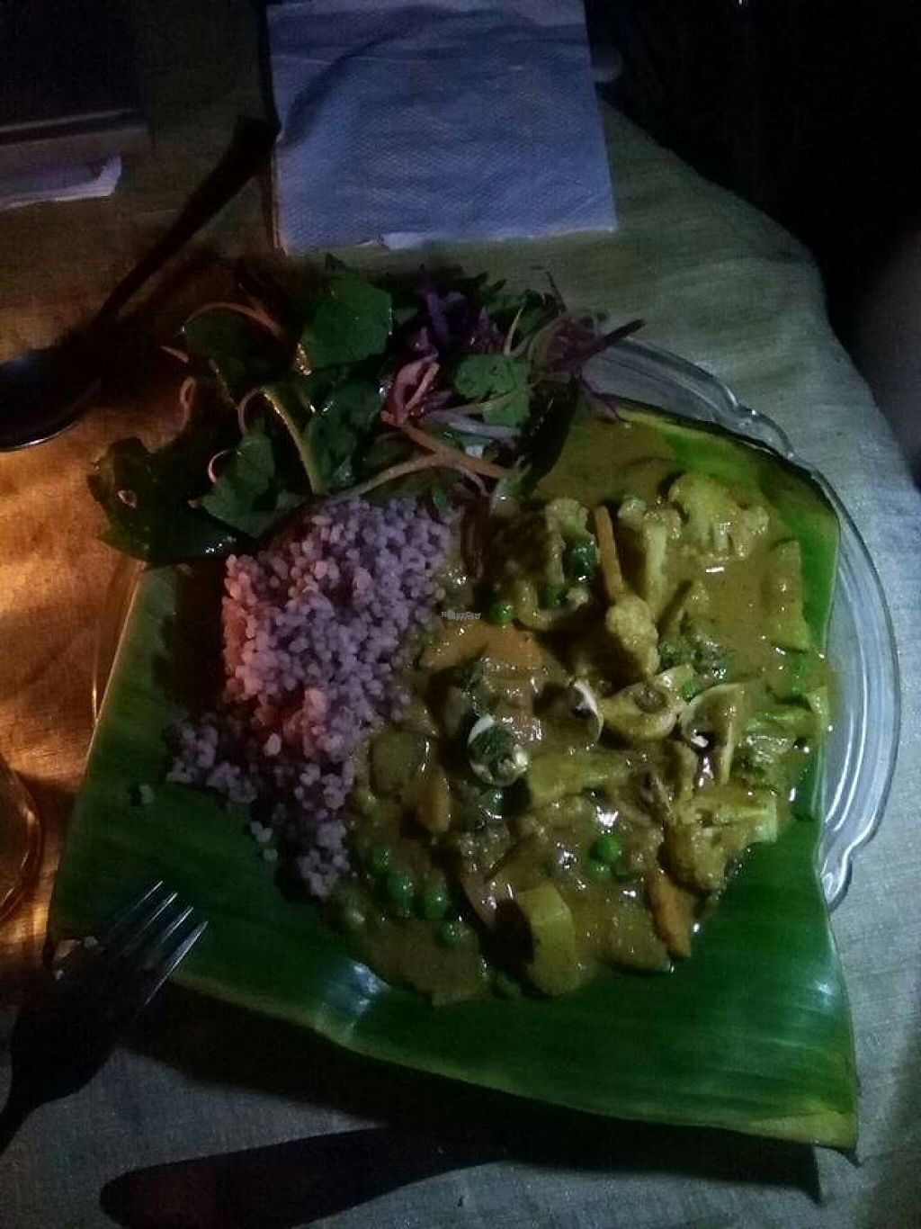 """Photo of Dharma Swasti  by <a href=""""/members/profile/HappyVeganCam"""">HappyVeganCam</a> <br/>massaman curry <br/> December 20, 2016  - <a href='/contact/abuse/image/81096/203130'>Report</a>"""