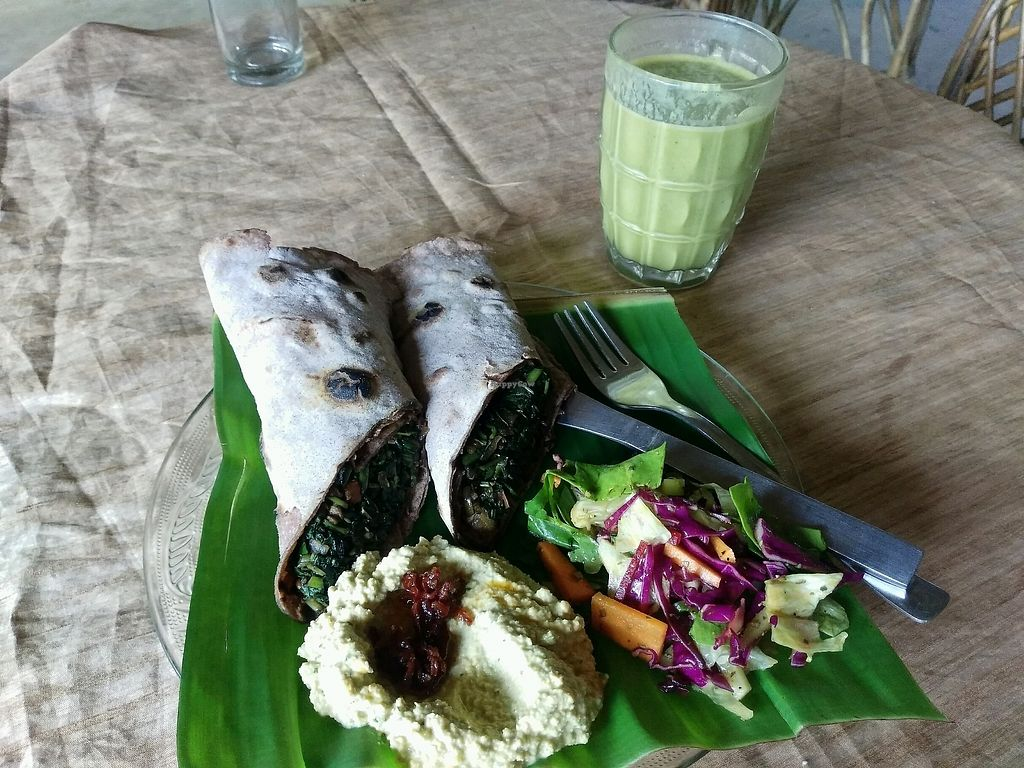 """Photo of Dharma Swasti  by <a href=""""/members/profile/ThomasWeber"""">ThomasWeber</a> <br/>Dornach Vegan Cheese Wrap <br/> November 17, 2017  - <a href='/contact/abuse/image/81096/326400'>Report</a>"""