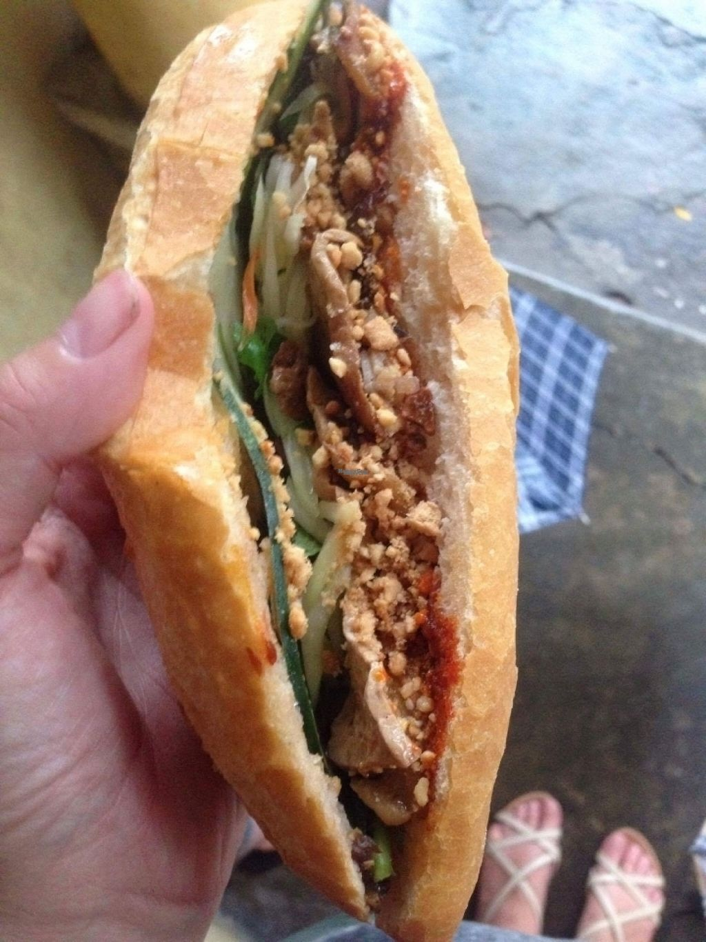 """Photo of Hoi Banh My Chay - Food Stall  by <a href=""""/members/profile/TeddyCourage"""">TeddyCourage</a> <br/>banh my <br/> November 2, 2016  - <a href='/contact/abuse/image/81098/186019'>Report</a>"""