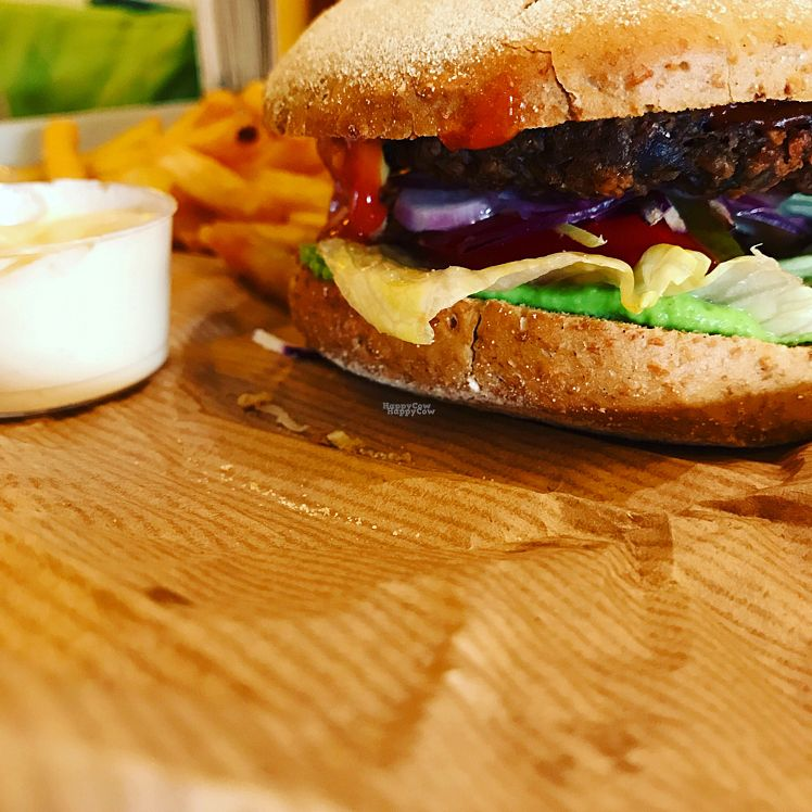 """Photo of GreenBurger - Frederiksborggade  by <a href=""""/members/profile/madseus"""">madseus</a> <br/>The mexican burger menu is very good! <br/> October 24, 2016  - <a href='/contact/abuse/image/81101/184160'>Report</a>"""