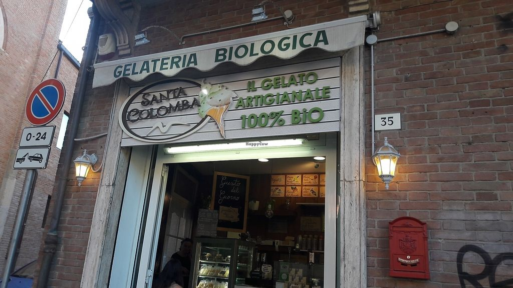"""Photo of Santa Colomba Gelateria  by <a href=""""/members/profile/SilviaZuin"""">SilviaZuin</a> <br/>Insegna vetrina <br/> August 20, 2017  - <a href='/contact/abuse/image/81135/294716'>Report</a>"""