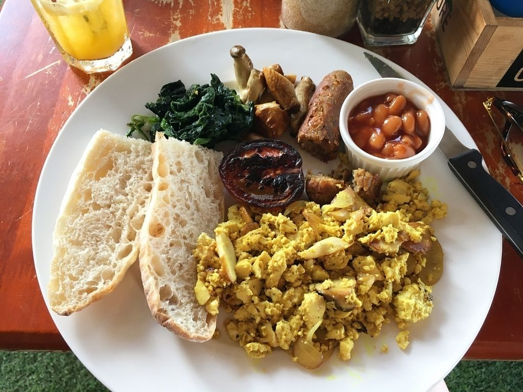 """Photo of Cafe Culture  by <a href=""""/members/profile/FrejaBusby"""">FrejaBusby</a> <br/>Vegan breakfast plate <br/> October 15, 2016  - <a href='/contact/abuse/image/81149/182228'>Report</a>"""