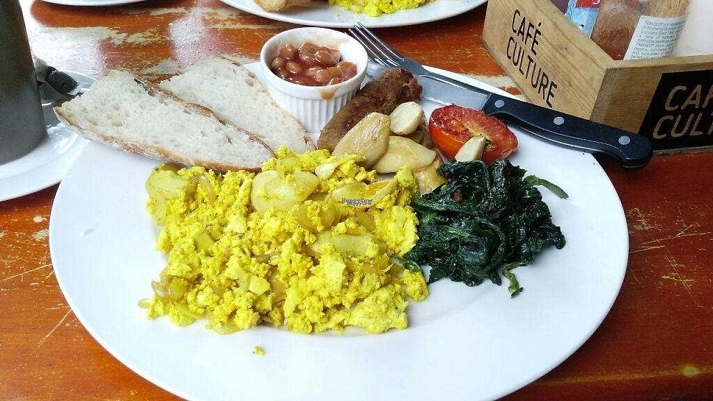 """Photo of Cafe Culture  by <a href=""""/members/profile/gomental5"""">gomental5</a> <br/>Vegan breakfast - 160THB <br/> December 17, 2016  - <a href='/contact/abuse/image/81149/202165'>Report</a>"""