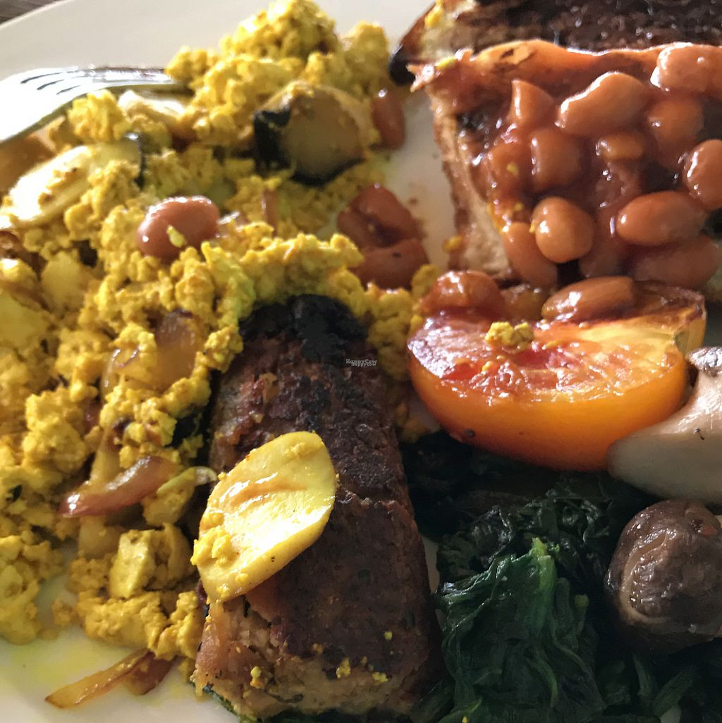 """Photo of Cafe Culture  by <a href=""""/members/profile/Hileydangerous"""">Hileydangerous</a> <br/>incredible vegan breakfast BETWR than meat version, everyone agreed <br/> December 27, 2016  - <a href='/contact/abuse/image/81149/204926'>Report</a>"""
