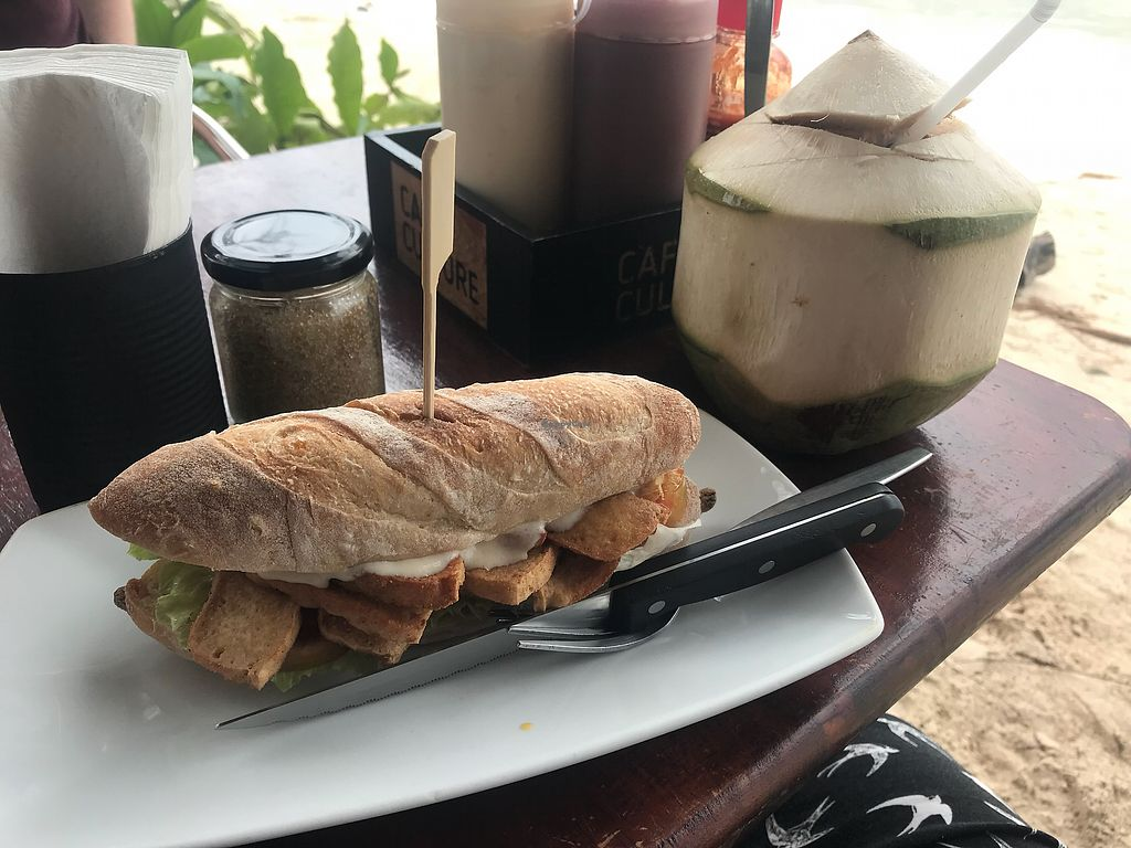 """Photo of Cafe Culture  by <a href=""""/members/profile/NiLa_"""">NiLa_</a> <br/>Vegan BLT sandwich  <br/> December 27, 2017  - <a href='/contact/abuse/image/81149/339535'>Report</a>"""