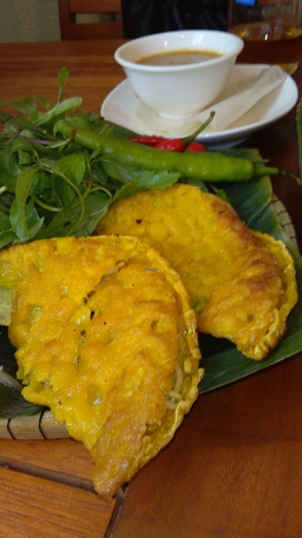 """Photo of CLOSED: Da Nang Com Chay  by <a href=""""/members/profile/KPike"""">KPike</a> <br/>Banh Xeo (savoury crepe) <br/> November 2, 2016  - <a href='/contact/abuse/image/81151/186085'>Report</a>"""