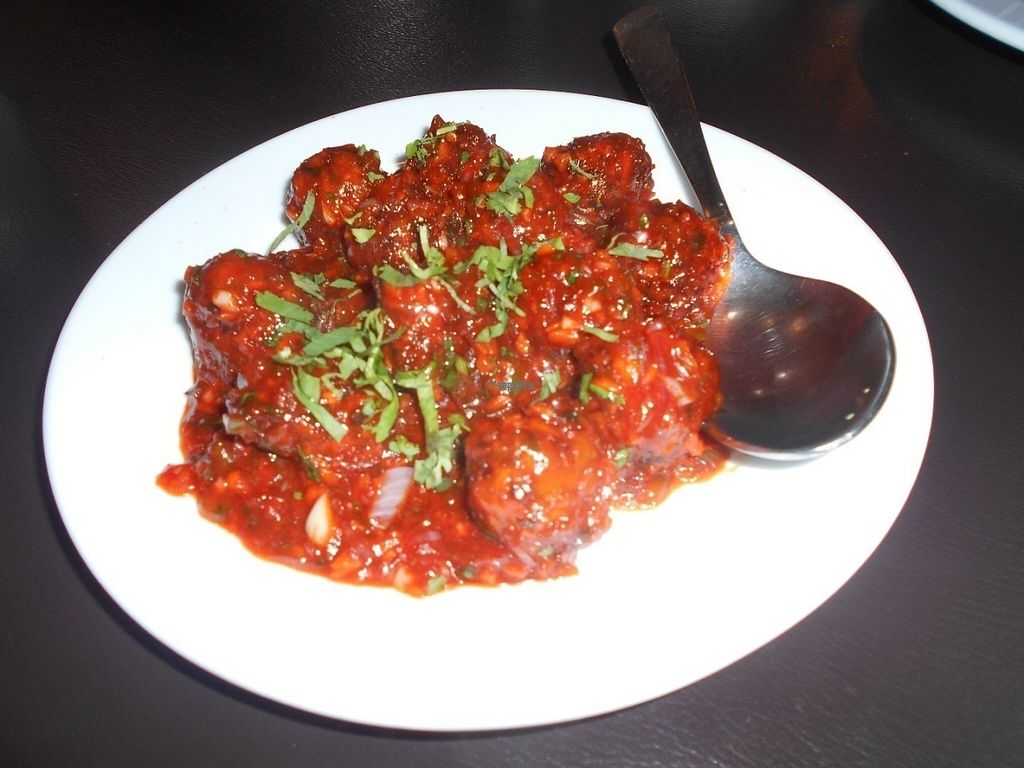 "Photo of Indian Rasoi  by <a href=""/members/profile/Kelly%20Kelly"">Kelly Kelly</a> <br/>Indian Rasoi - Veggie Manchurian yummy! <br/> October 10, 2016  - <a href='/contact/abuse/image/81157/181144'>Report</a>"