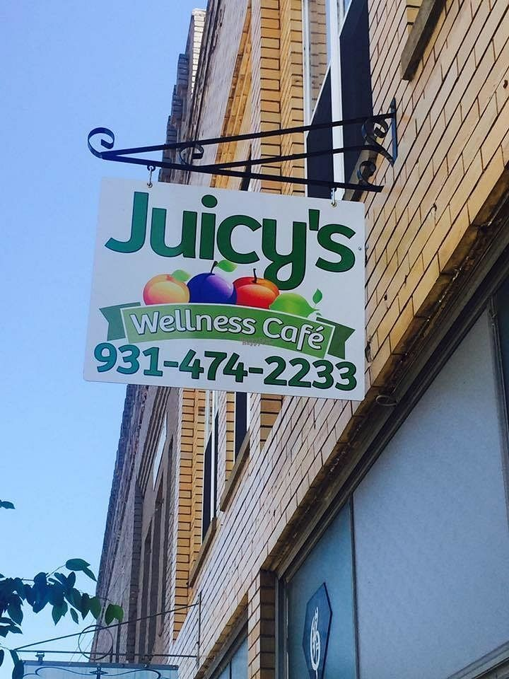 "Photo of Juicy's Wellness Cafe   by <a href=""/members/profile/MaryBethLaxson"">MaryBethLaxson</a> <br/>110 E. Main Street.  The best little cafe you will ever experience <br/> October 10, 2016  - <a href='/contact/abuse/image/81202/180926'>Report</a>"