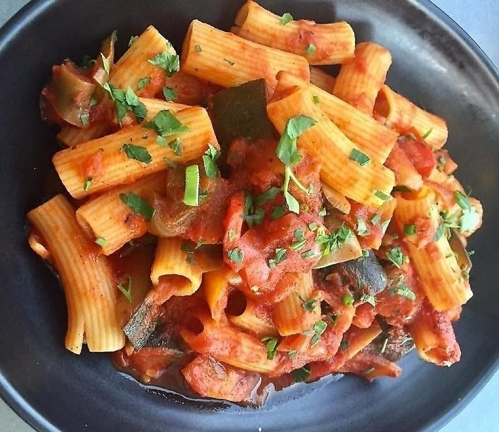 "Photo of Cracked Pepper Restaurant  by <a href=""/members/profile/karlaess"">karlaess</a> <br/>Mediterranean Vegetable Rigatoni <br/> October 13, 2016  - <a href='/contact/abuse/image/81217/256981'>Report</a>"