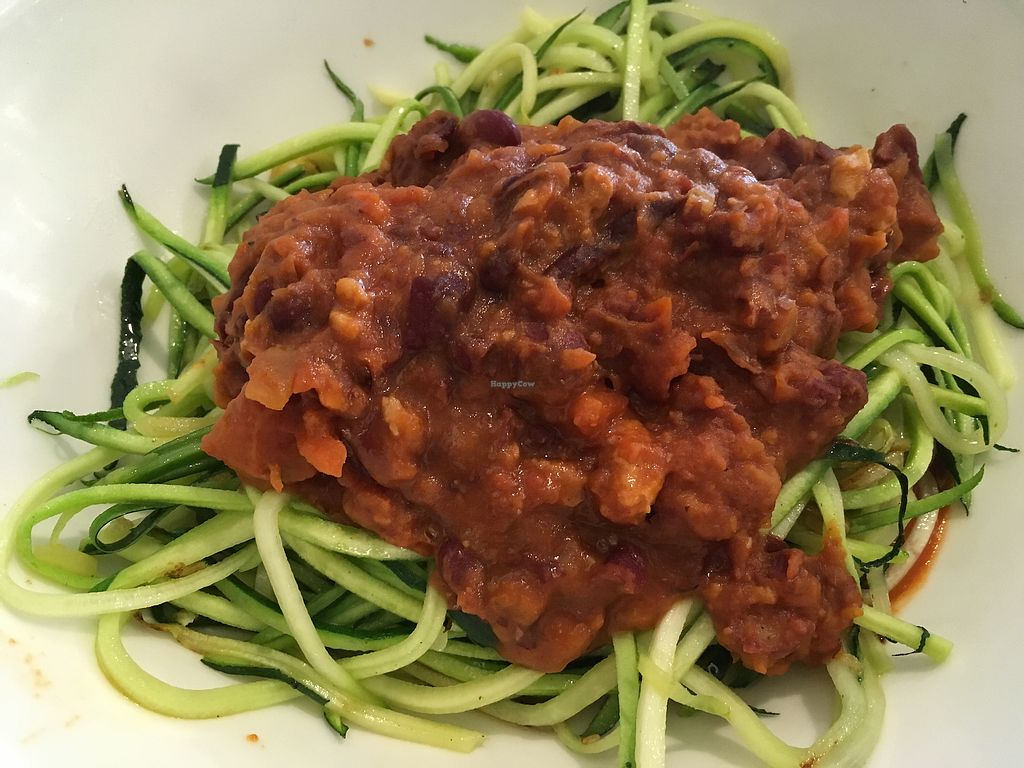"""Photo of Paradis Marguerite  by <a href=""""/members/profile/FruitMonstar"""">FruitMonstar</a> <br/>Zucchini pasta <br/> November 5, 2017  - <a href='/contact/abuse/image/81220/322053'>Report</a>"""