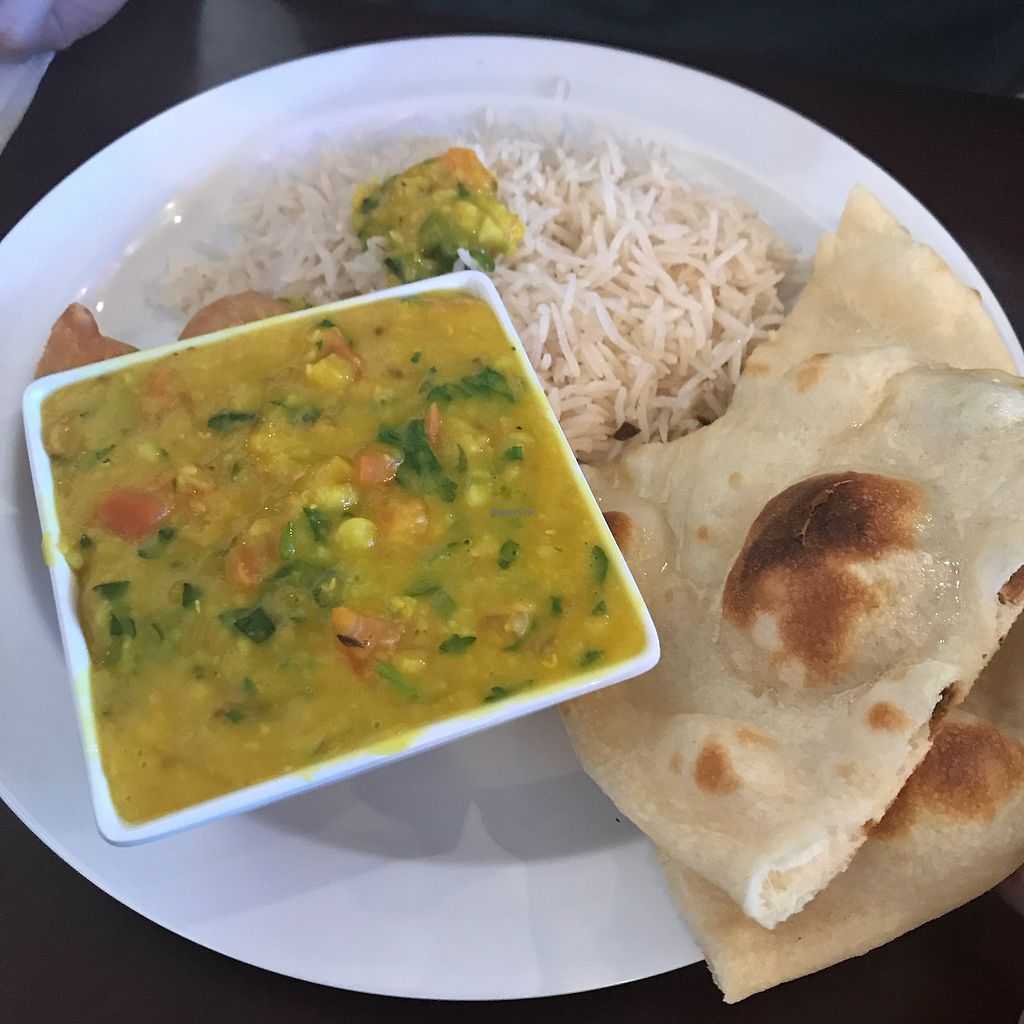 """Photo of India Spice N Bar  by <a href=""""/members/profile/goaty.the.van"""">goaty.the.van</a> <br/>Dal lunch combo <br/> January 14, 2018  - <a href='/contact/abuse/image/81232/346651'>Report</a>"""