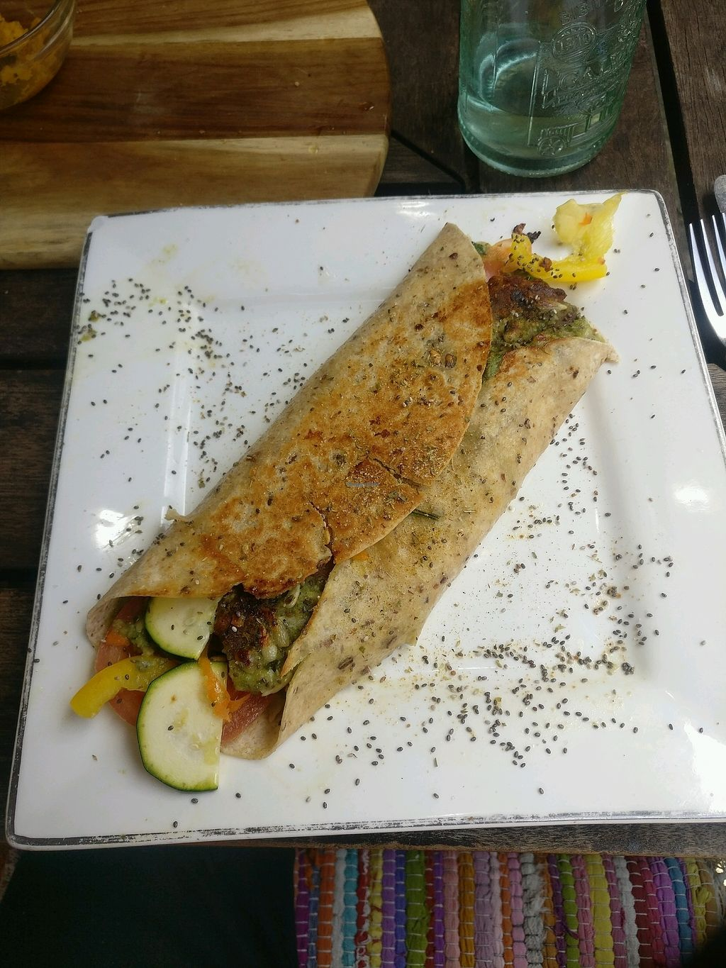 "Photo of Botaniko  by <a href=""/members/profile/EwanStewart"">EwanStewart</a> <br/>amazing vegan wrap <br/> November 21, 2017  - <a href='/contact/abuse/image/81234/327694'>Report</a>"