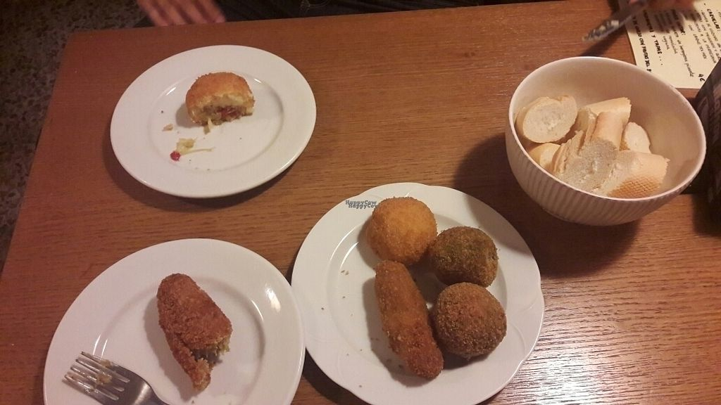 """Photo of Bar Gallo  by <a href=""""/members/profile/c0c0"""">c0c0</a> <br/>vegetables croquettes <br/> October 14, 2016  - <a href='/contact/abuse/image/81245/182007'>Report</a>"""