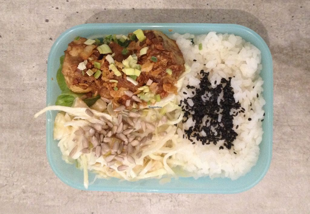 "Photo of NutCart  by <a href=""/members/profile/Koriander"">Koriander</a> <br/>Bento Box Mini mit Kohl-Apfel Salat und Kokos-Tofu <br/> January 17, 2018  - <a href='/contact/abuse/image/81269/347715'>Report</a>"