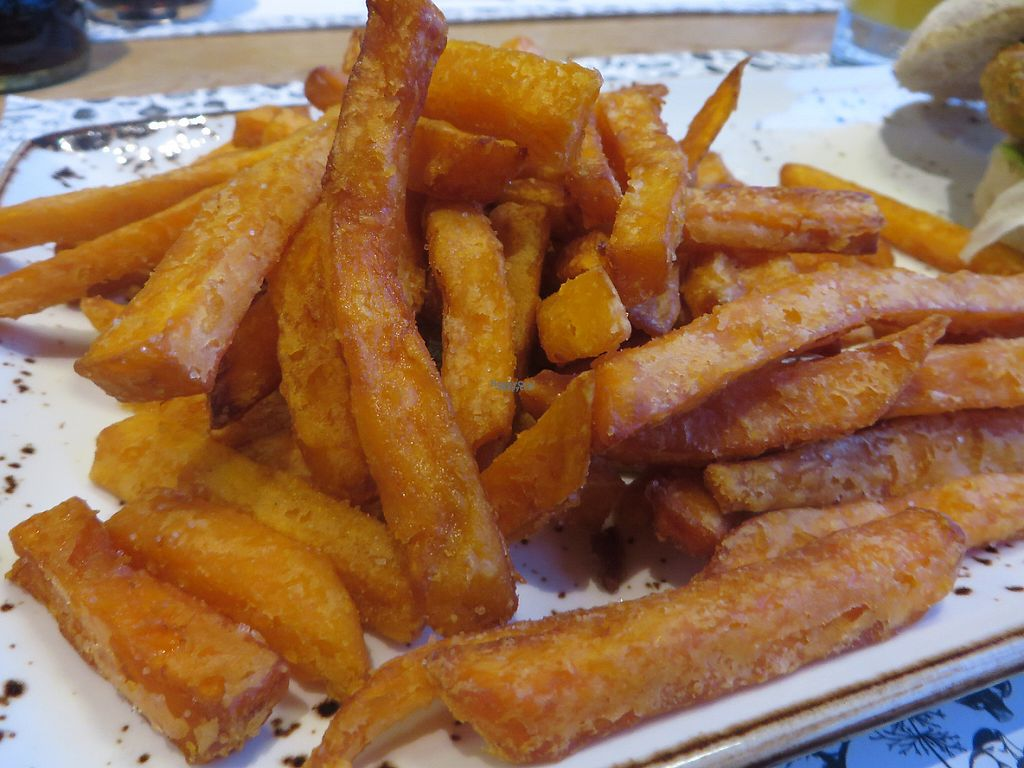 "Photo of Jay & Jay  by <a href=""/members/profile/VegiAnna"">VegiAnna</a> <br/>sweet potato fries (vegan) <br/> December 30, 2016  - <a href='/contact/abuse/image/81280/206029'>Report</a>"
