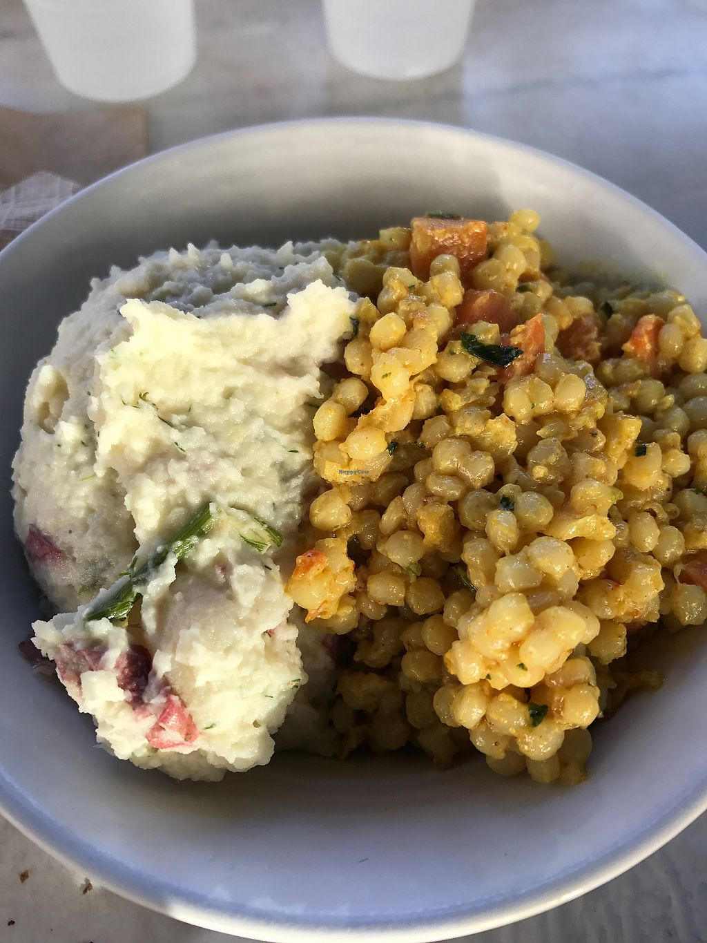 """Photo of Mendocino Farms  by <a href=""""/members/profile/sjberrest"""">sjberrest</a> <br/>1/2 Potato Salad 1/2 Curried Couscous  <br/> June 28, 2017  - <a href='/contact/abuse/image/81282/274198'>Report</a>"""