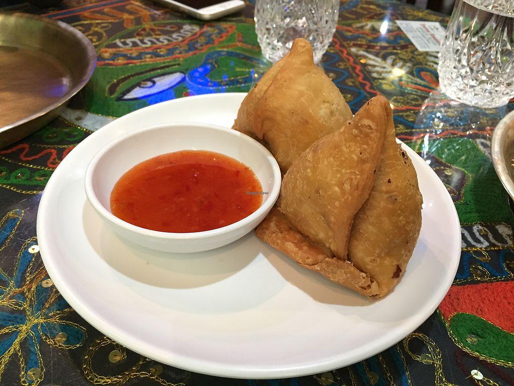 "Photo of Himalayan Restaurant - 히말라얀 레스토랑  by <a href=""/members/profile/Knauji82"">Knauji82</a> <br/>Samosa <br/> October 11, 2017  - <a href='/contact/abuse/image/81286/314183'>Report</a>"