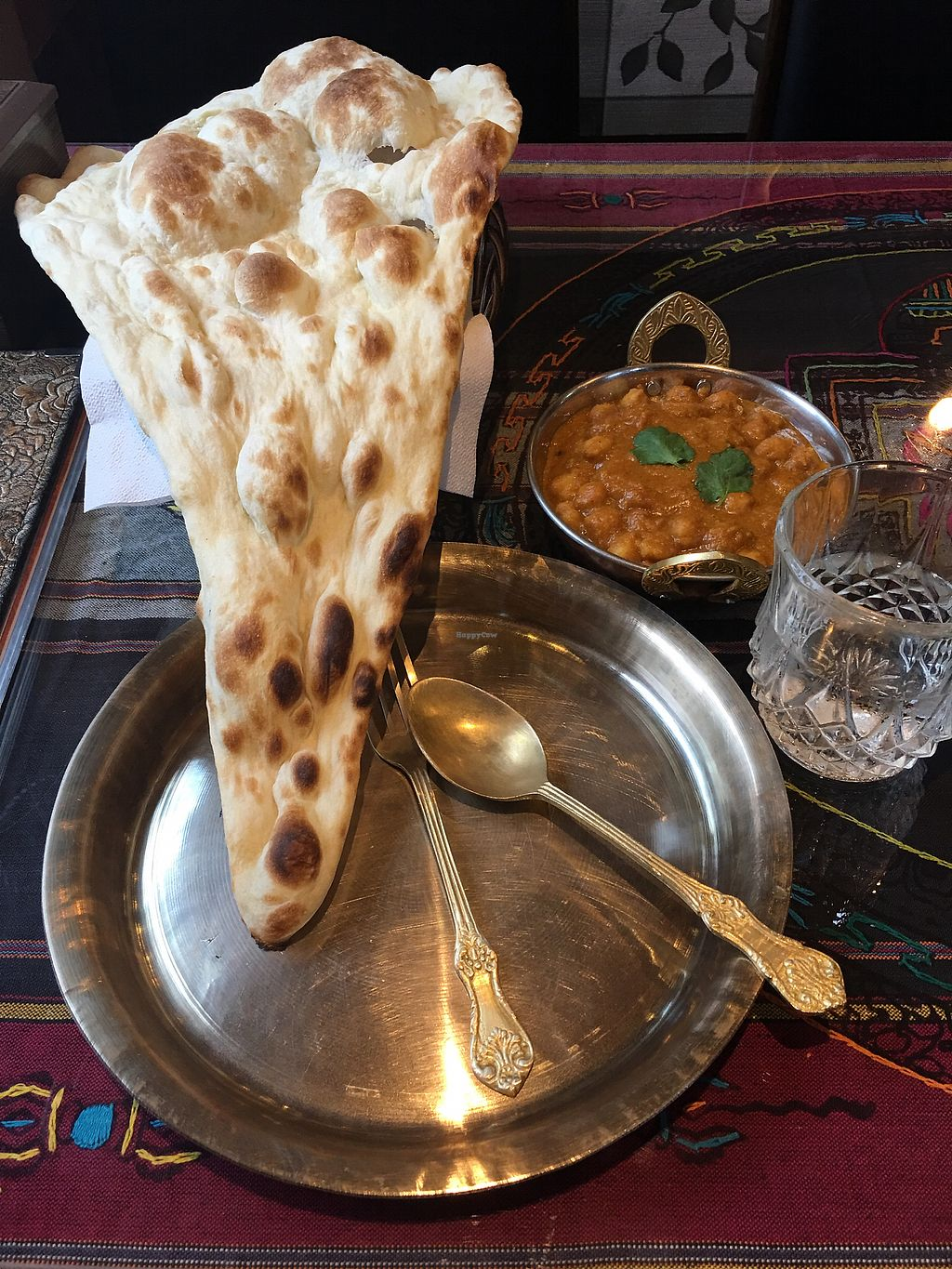 """Photo of Himalayan Restaurant - 히말라얀 레스토랑  by <a href=""""/members/profile/AnnaVa"""">AnnaVa</a> <br/>Delicious! Menu is in English.  <br/> March 15, 2018  - <a href='/contact/abuse/image/81286/370822'>Report</a>"""