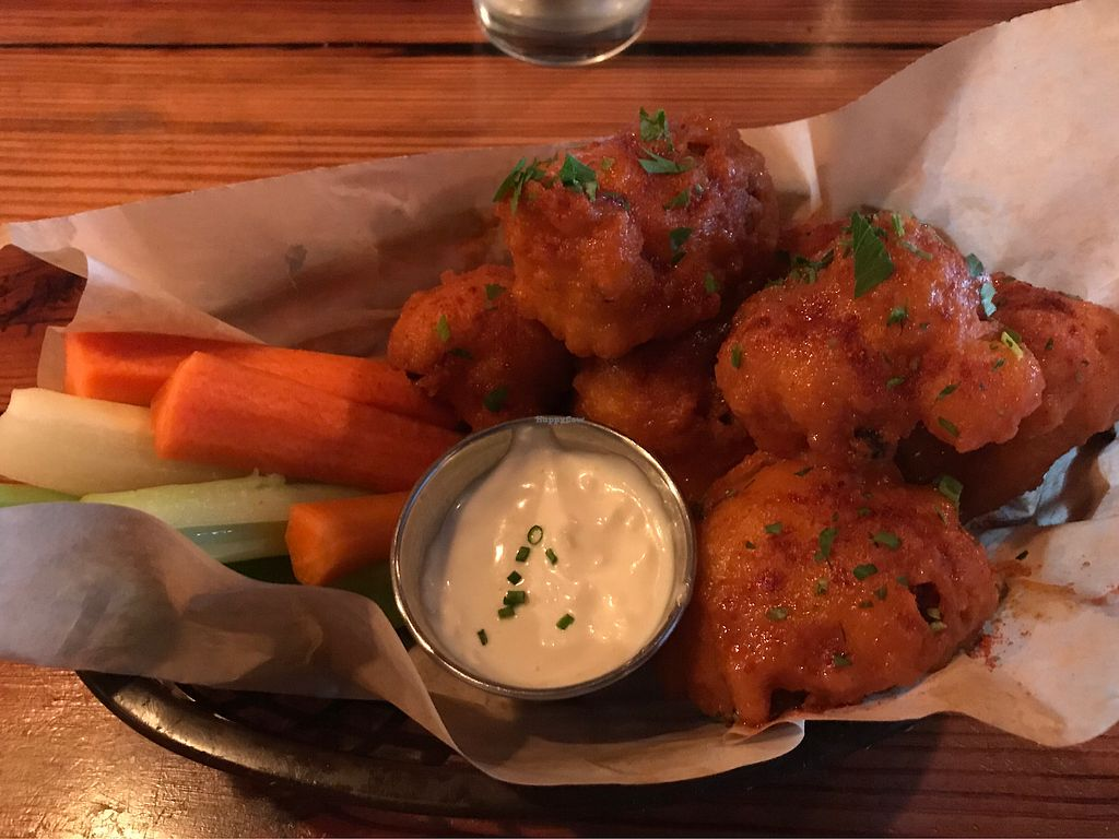 "Photo of The Beer Plant  by <a href=""/members/profile/Vegan%20Vagabond"">Vegan Vagabond</a> <br/>Buffalo cauliflower  <br/> February 12, 2018  - <a href='/contact/abuse/image/81287/358190'>Report</a>"