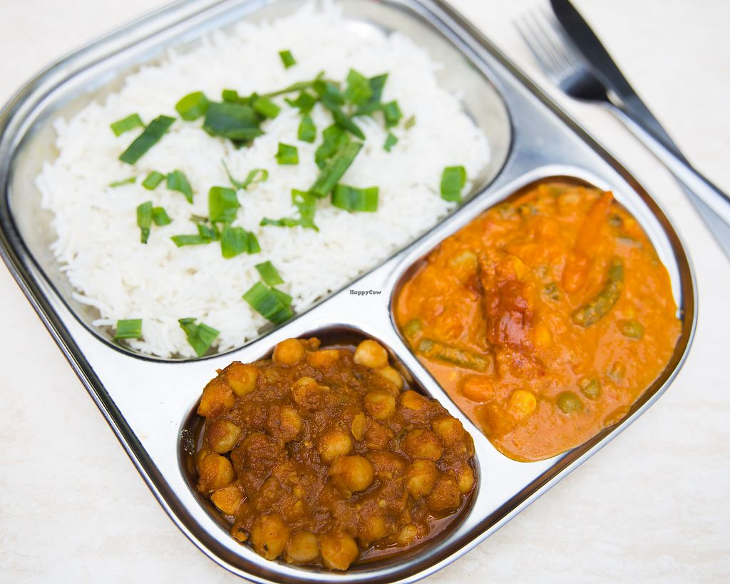 """Photo of Vegeto  by <a href=""""/members/profile/AnshulAgarwal"""">AnshulAgarwal</a> <br/>Lunch Special- Rice And Curry Combo (Under $9) @ all outlets <br/> October 18, 2017  - <a href='/contact/abuse/image/81305/316294'>Report</a>"""