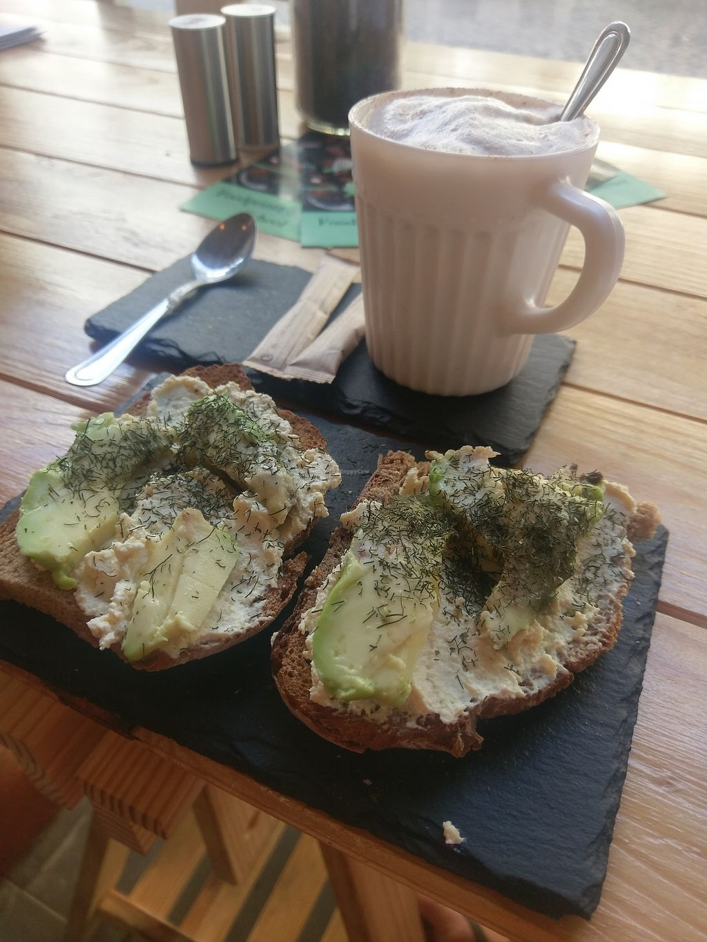 """Photo of Foodprintz Cafe  by <a href=""""/members/profile/Teele"""">Teele</a> <br/>Avocado toast <br/> August 28, 2017  - <a href='/contact/abuse/image/81313/298357'>Report</a>"""