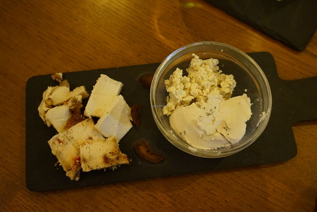 """Photo of Foodprintz Cafe  by <a href=""""/members/profile/angdep"""">angdep</a> <br/>Cashew Cheese Platter with Tofu Ricotta <br/> November 19, 2017  - <a href='/contact/abuse/image/81313/327135'>Report</a>"""