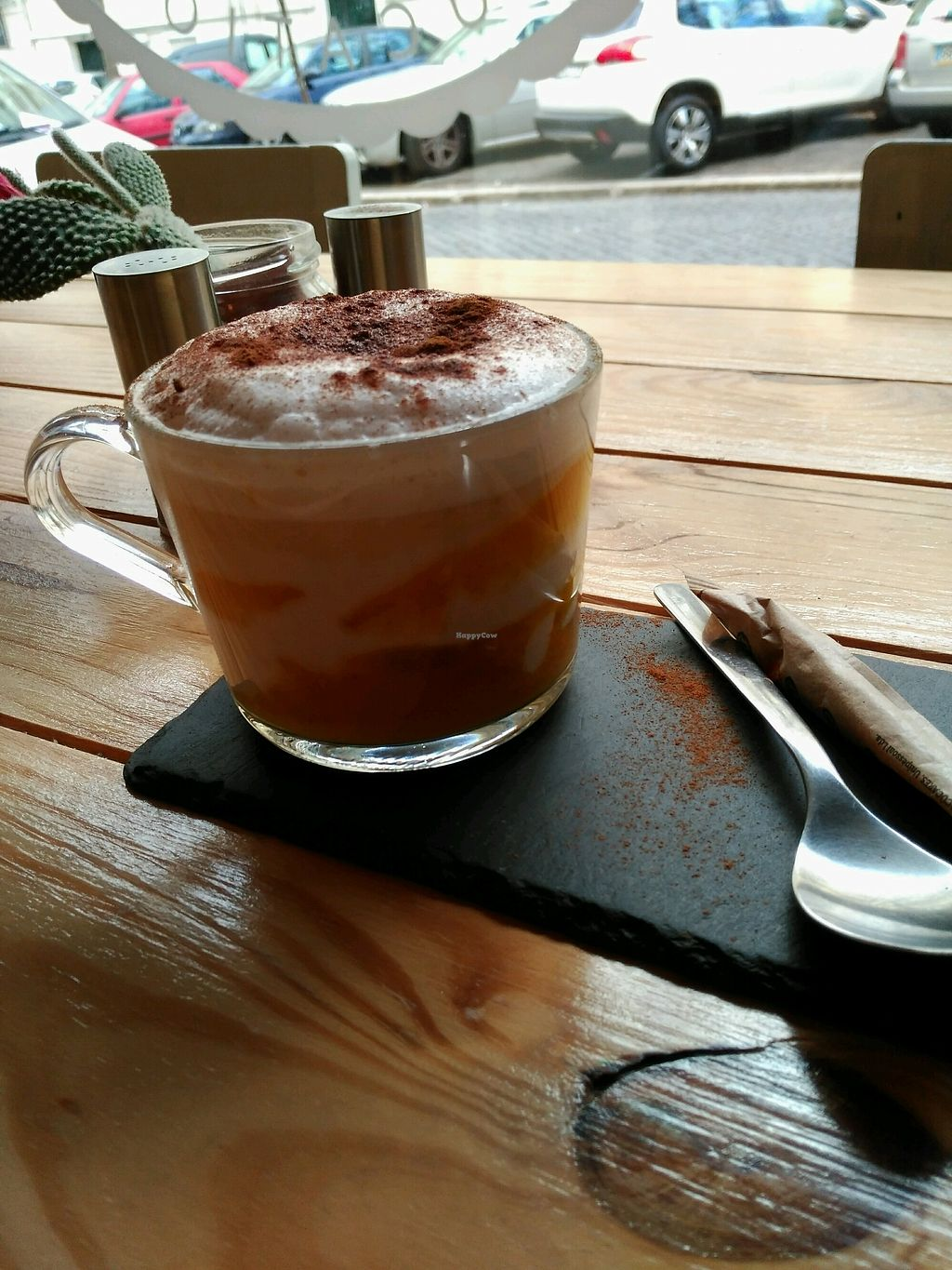 """Photo of Foodprintz Cafe  by <a href=""""/members/profile/Cl%C3%A1udiaA"""">CláudiaA</a> <br/>Pumpkin Chai Latte  <br/> February 7, 2018  - <a href='/contact/abuse/image/81313/356081'>Report</a>"""