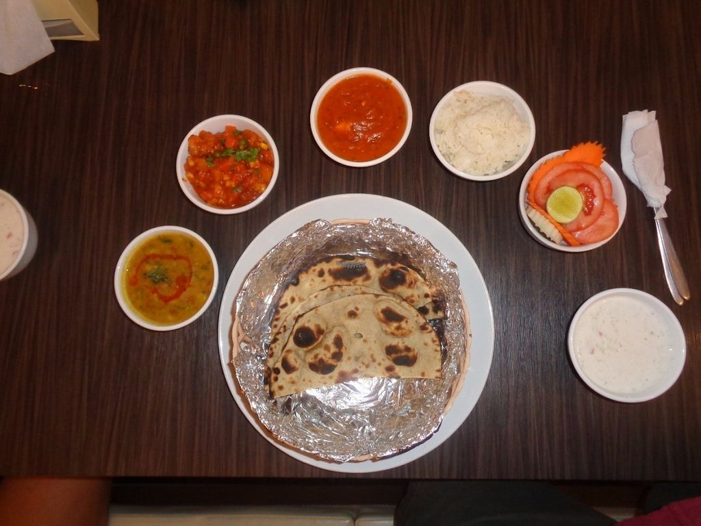 """Photo of Live Hours Indian  by <a href=""""/members/profile/Kelly%20Kelly"""">Kelly Kelly</a> <br/>Live Hours Indian Restaurant Veggie Thali <br/> October 11, 2016  - <a href='/contact/abuse/image/81323/181427'>Report</a>"""