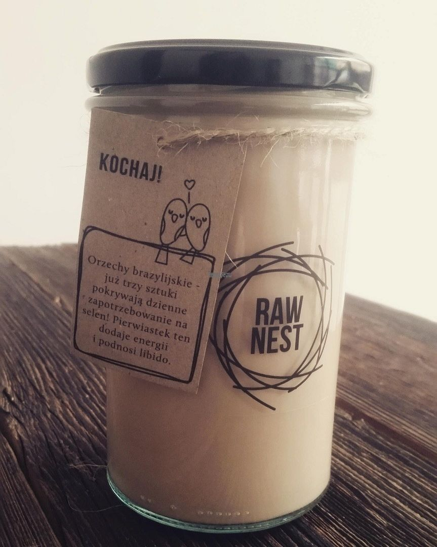 "Photo of Raw Nest  by <a href=""/members/profile/JoannaBereza"">JoannaBereza</a> <br/>Plant-based milk from brazil nuts with raw cocoa and touch of hot pepper.  <br/> October 14, 2016  - <a href='/contact/abuse/image/81333/181991'>Report</a>"