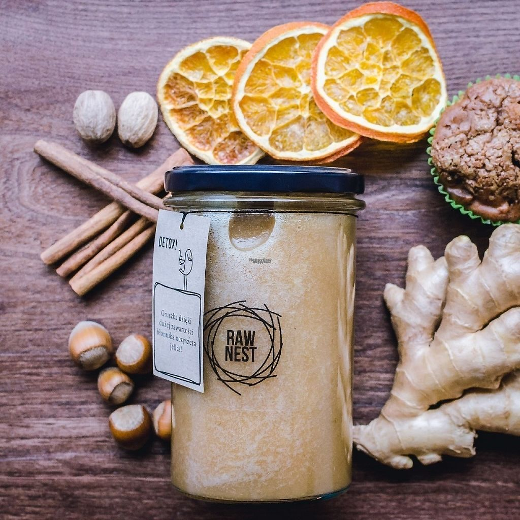 "Photo of Raw Nest  by <a href=""/members/profile/JoannaBereza"">JoannaBereza</a> <br/>Apple, pear, cinnamon and ginger smoothie  <br/> December 21, 2016  - <a href='/contact/abuse/image/81333/203385'>Report</a>"