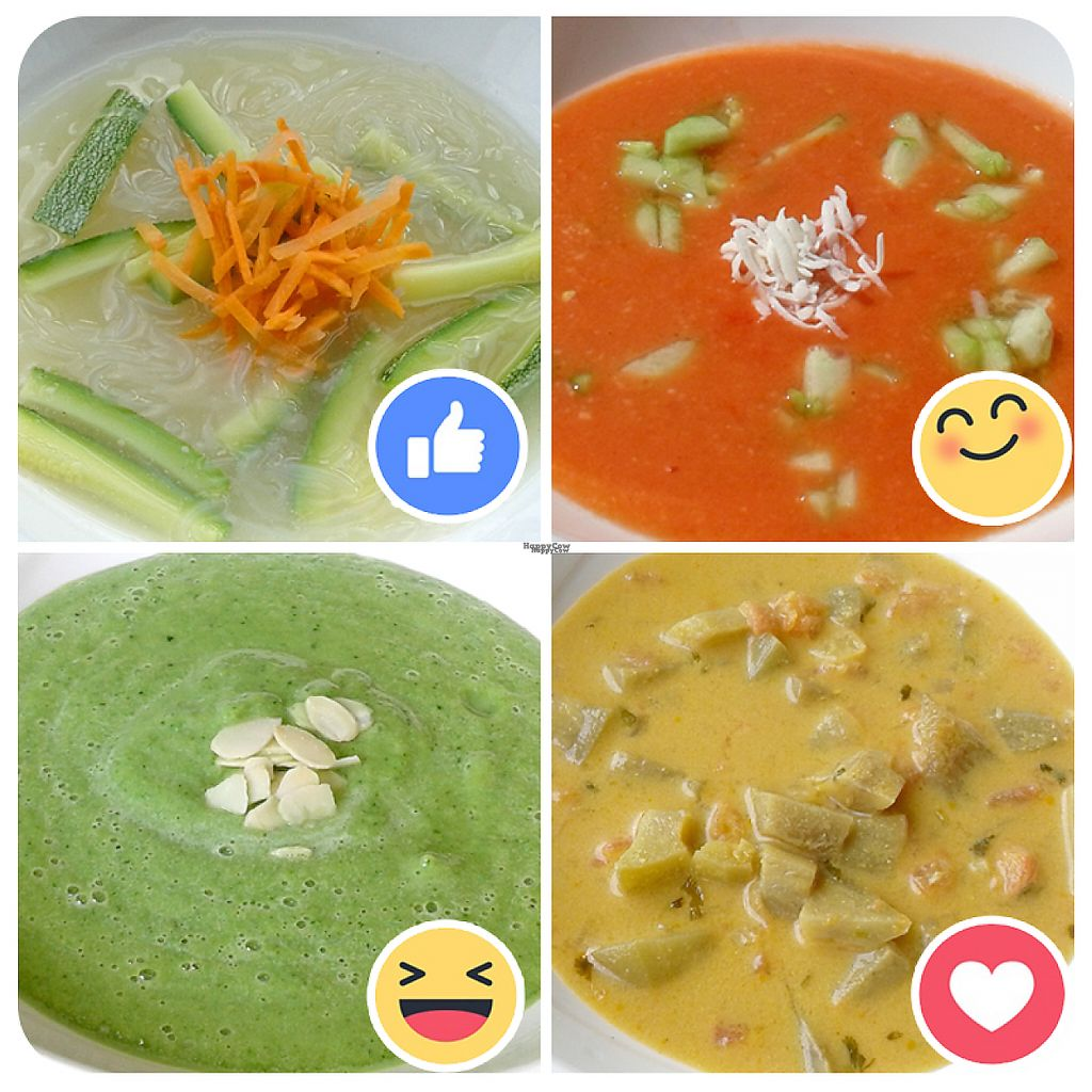 """Photo of Mango Matilda  by <a href=""""/members/profile/V%C3%ADctorAvi%C3%B1a"""">VíctorAviña</a> <br/>Hot and raw soups <br/> January 13, 2017  - <a href='/contact/abuse/image/81342/211726'>Report</a>"""