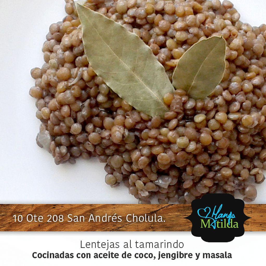 "Photo of Mango Matilda  by <a href=""/members/profile/V%C3%ADctorAvi%C3%B1a"">VíctorAviña</a> <br/>Lentejas al tamarindo <br/> January 13, 2017  - <a href='/contact/abuse/image/81342/211733'>Report</a>"