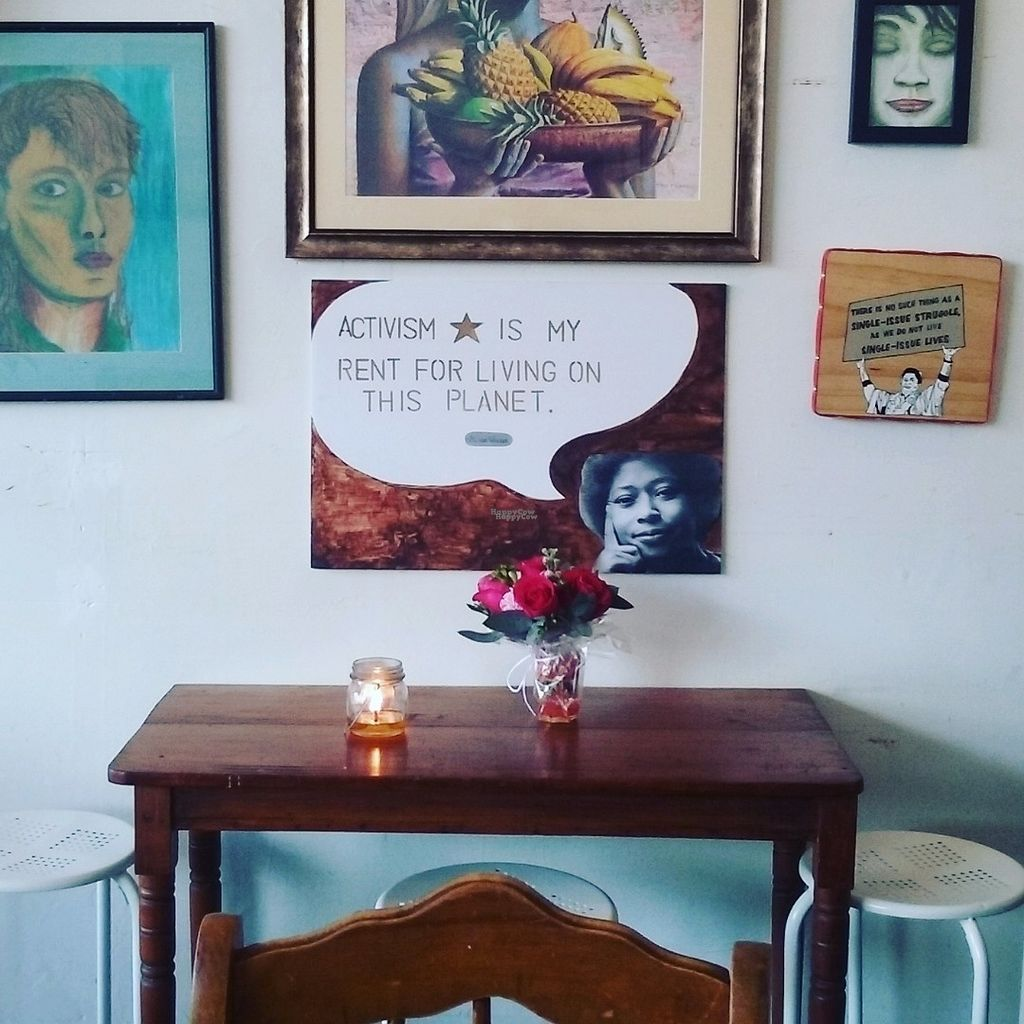 """Photo of CLOSED: Nusantara Indonesian Tea Cafe  by <a href=""""/members/profile/nusantaravegan"""">nusantaravegan</a> <br/>Inspired by women, social and environmental causes, the tearoom offers a reflective and intimate space to get away from the busy outside world <br/> October 14, 2016  - <a href='/contact/abuse/image/81343/182002'>Report</a>"""