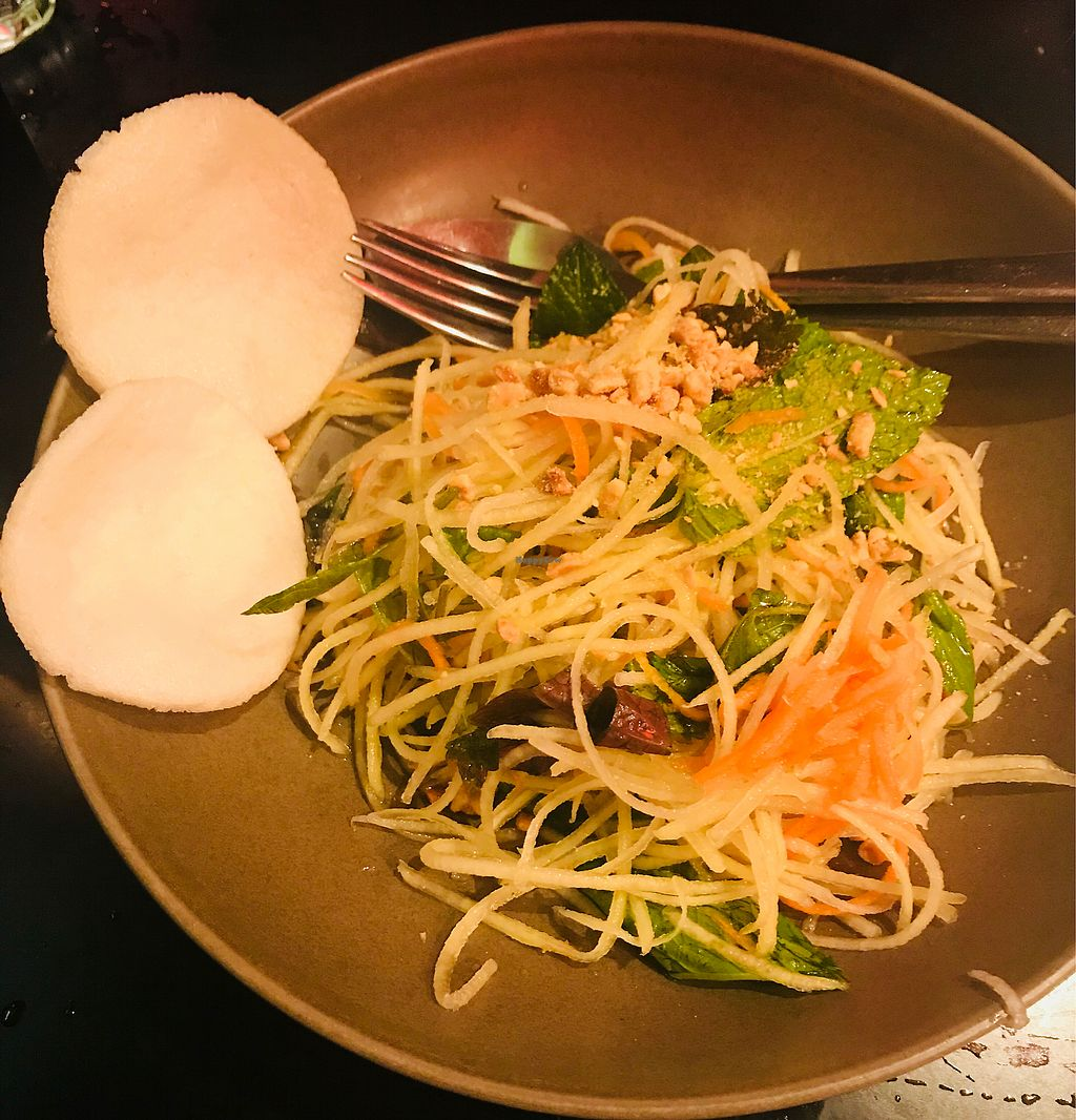 "Photo of Red Lotus Vietnamese Chargrill  by <a href=""/members/profile/NirvanaRoseWilliams"">NirvanaRoseWilliams</a> <br/>Papaya Salad  <br/> October 22, 2017  - <a href='/contact/abuse/image/81349/317647'>Report</a>"