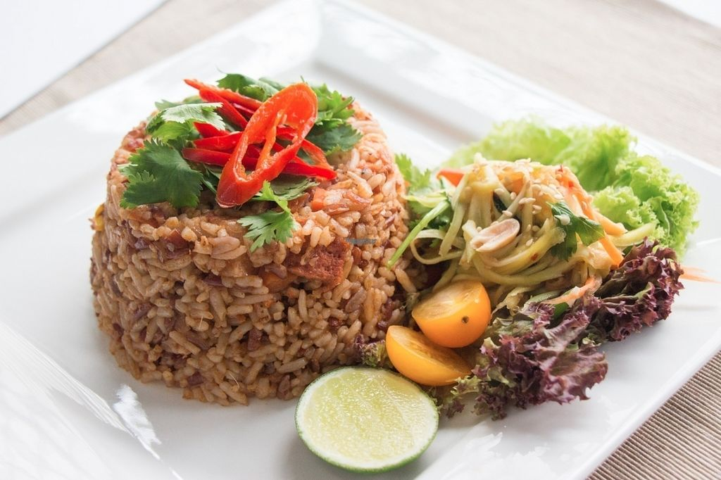 "Photo of Kon Rak Pak Thai Vegetarian Restaurant  by <a href=""/members/profile/VyvianGoh"">VyvianGoh</a> <br/>Belacan Fried Rice <br/> October 13, 2016  - <a href='/contact/abuse/image/81357/181850'>Report</a>"