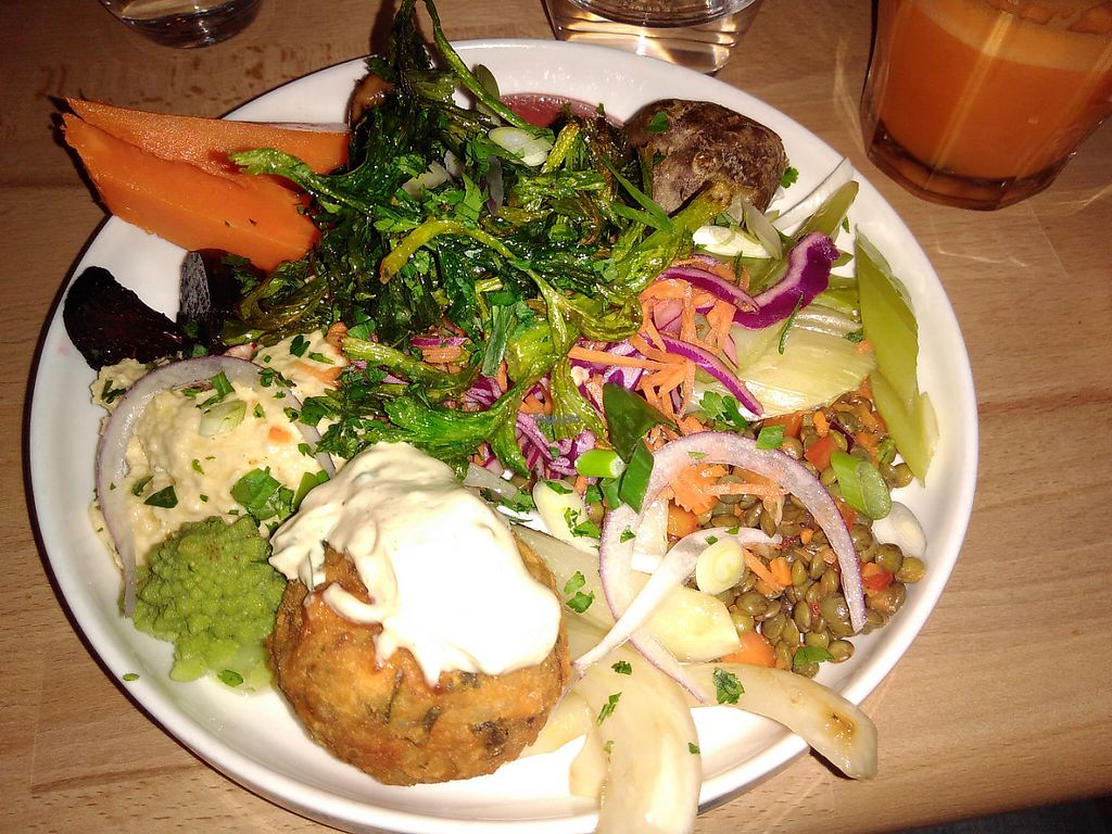 """Photo of Primeur Cantine  by <a href=""""/members/profile/JonJon"""">JonJon</a> <br/>Falafel dish <br/> February 5, 2017  - <a href='/contact/abuse/image/81418/222812'>Report</a>"""